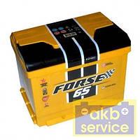 Автомобильный аккумулятор Форс Forse (Westa) 6ст - 65 Ah 640A (+ справа)