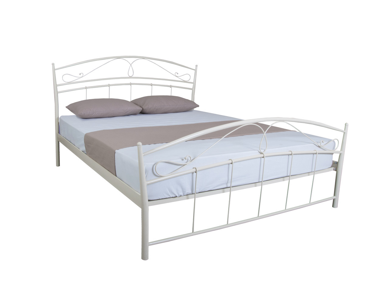 Двоспальне красива ліжко Селена 190х160, коричнева