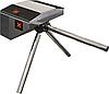 Турникет SKULL-M на базе Bastion для настенного монтажа, крашеный, цвет черный RAL 9005