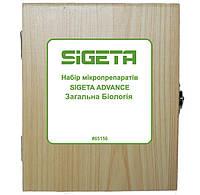 Набор микропрепаратов SIGETA ADVANCE Общая биология (30 шт.)