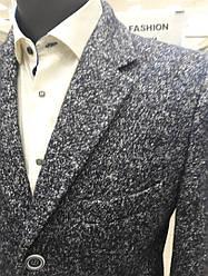 Пальто чоловіче демісезонне West fashion модель UM-11 меланж