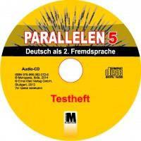 """Н. Басай """"Parallelen 5"""". Тести для 5-го класу ЗНЗ (1-й рік навчання, 2-га іноземна мова) + (1 аудіо CD-MP3 )"""