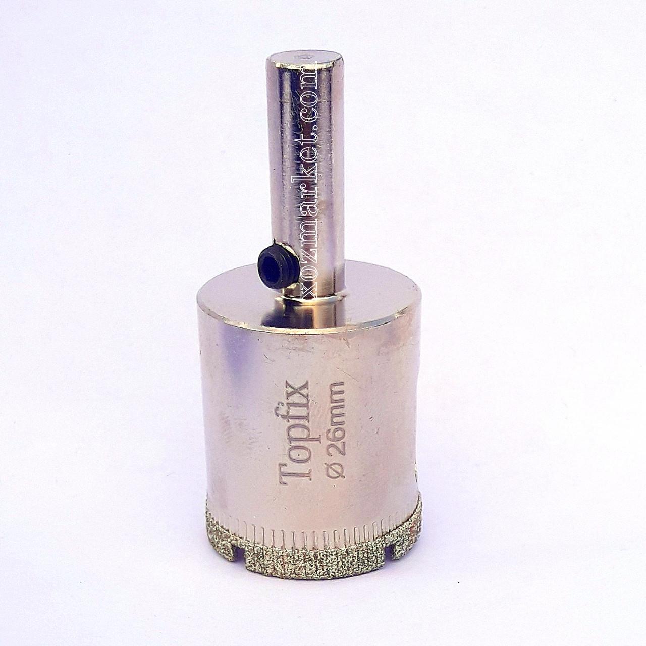 Коронка по склу та кераміці( Коронка по склу та кераміці) 6 мм