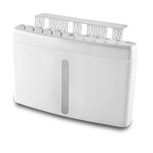 Увлажнитель воздуха на батарею, 500 мл, горизонтальный, пластик, белый