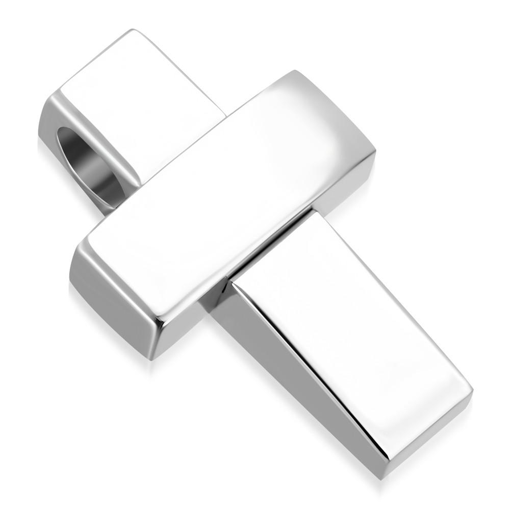 Кулон хрестик 316 Steel AVP222