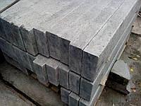 Бордюр гранитный серый 20*3*L