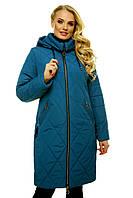 """Стильная женская куртка на молнии. """"Волна"""""""