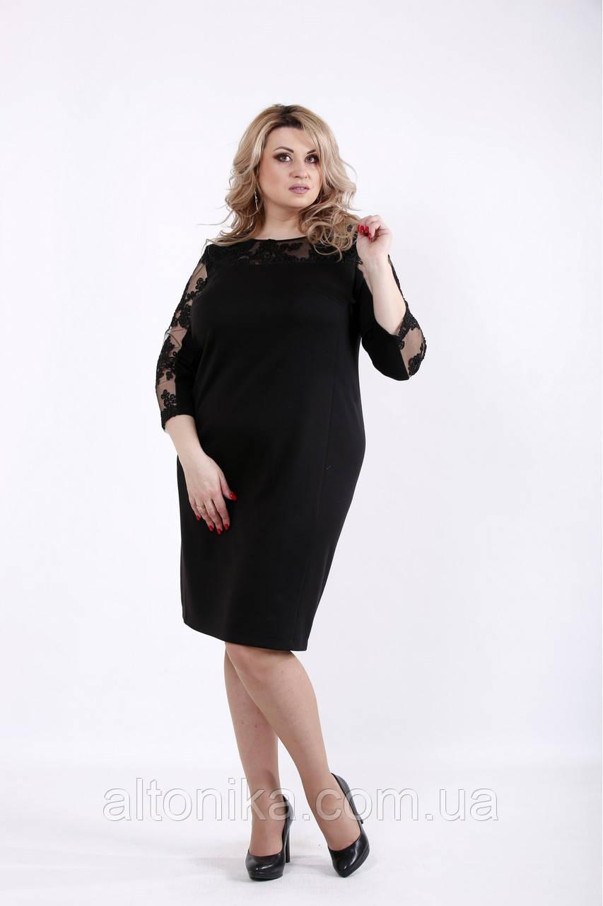 Элегантное платье с вышивкой | 42-74