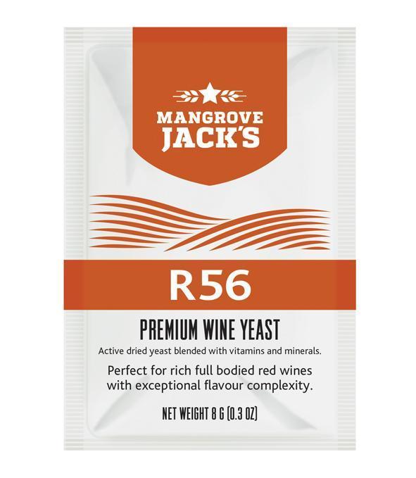 Дрожжи для красных вин Mangrove Jack's R56 (Н.Зеландия)