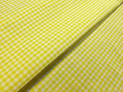 Коттон клеточка 1.5 мм, желтый