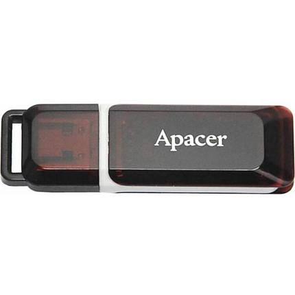 USB флеш накопитель Handy Steno 16GB  AH321 black-red Apacer (AP16GAH321R-1), фото 2