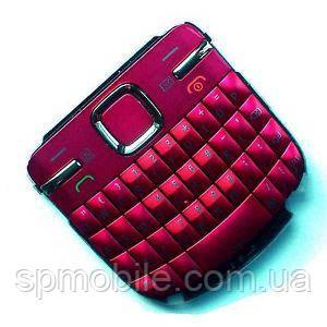 Клавиатура Nokia C3-00 Pink