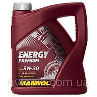 Моторное масло Mannol Energy Premium 5W30 (4л)