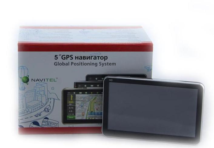 Автомобильный GPS навигатор Navitel5001 ram 256mb 8gb емкостный экран
