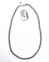 Мужская цепочка из серебра Элис бисмарк 55 см, фото 1
