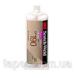 3M Scotch-Weld DP190 Двухкомпонентный эпоксидный клей, цвет серый, 50 мл,