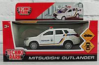 Машина металлическая 1:32 Автомодель - Mitsubishi outlander Полиция Outlander-Police Технопарк
