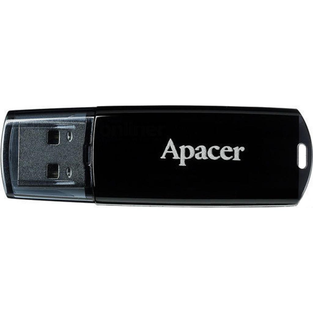 USB флеш накопитель Handy Steno 8GB AH322 black Apacer (AP8GAH322B-1)