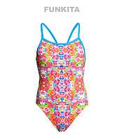 Распродажа! Cдельный купальник для девочек Funkita Coral Bloom FS16