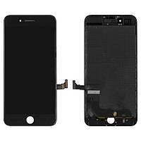 Дисплей для iPhone 7 Plus, модуль в сборе (экран и сенсор), с рамкой, черный, оригинал