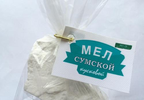 Мел Сумской кусковой, пробник 100 г, фото 2