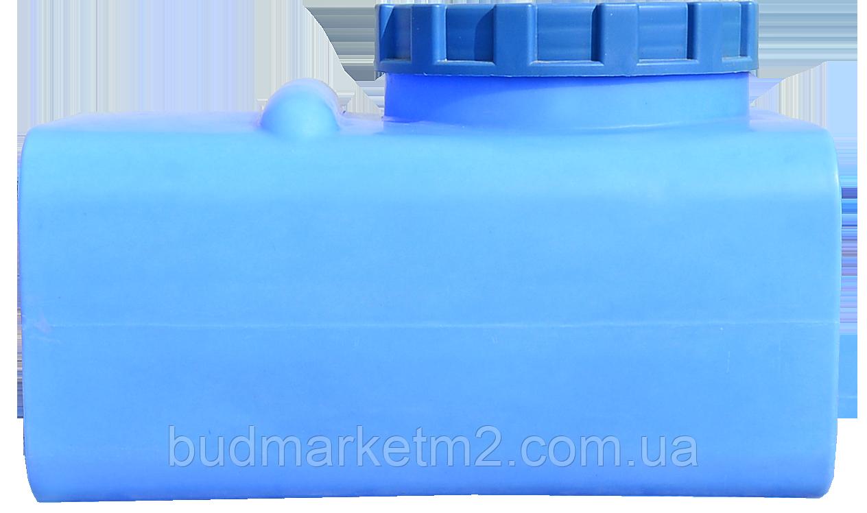Емкость горизонтальная прямоугольная 125 литров