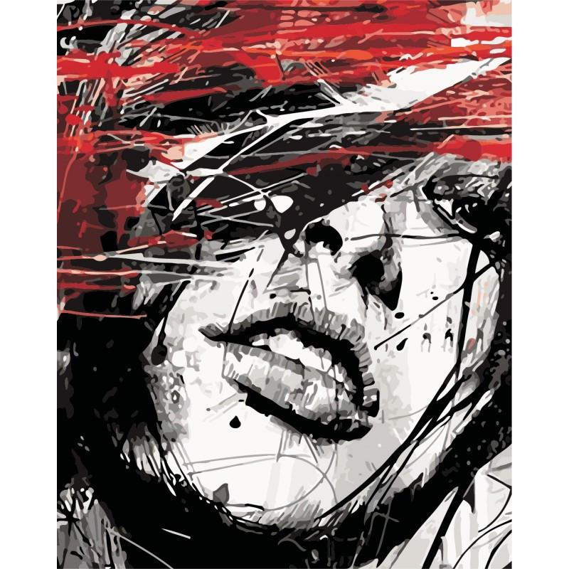 """Роспись по номерам """"Страстный взгляд"""" в кор. 40*50см, ТМ ArtStory Артикул: AS0424 Ухти-Тухти Кривой Рог"""