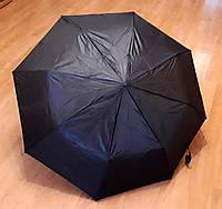 Зонт черный, полуавтомат, 8 спиц, фото 1