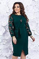 Платье женское нарядное 50-52-54 р ( красный, фиолетовый, зеленый )