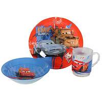 Детский набор Luminarc Disney Cars 3 предмета