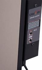 Керамическая панель Кам-Ин 525EWT конвекция + терморегулятор, фото 3