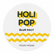 Пудра для лица Holika Holika Holi Pop Blur Pact тон 02 Natural Beige бежевый 10,5 г (72576)