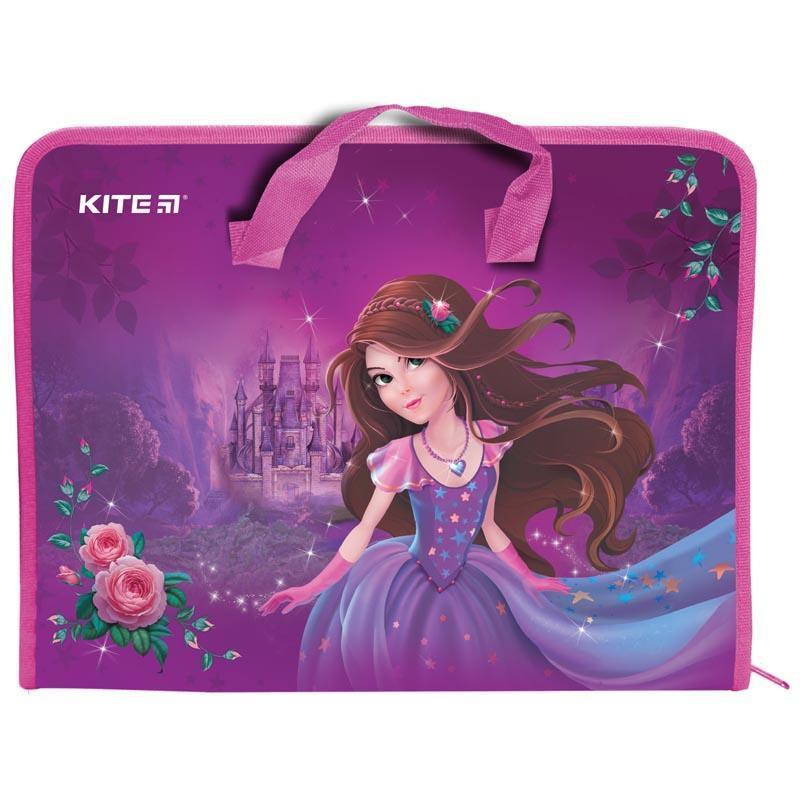 Папка-портфель А4 KITE Princess K19-202-01