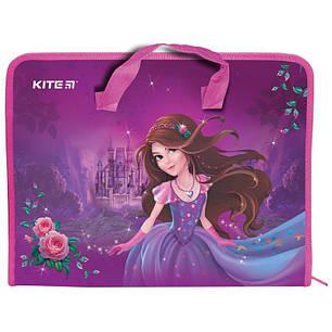 Папка-портфель А4 KITE Princess K19-202-01, фото 2