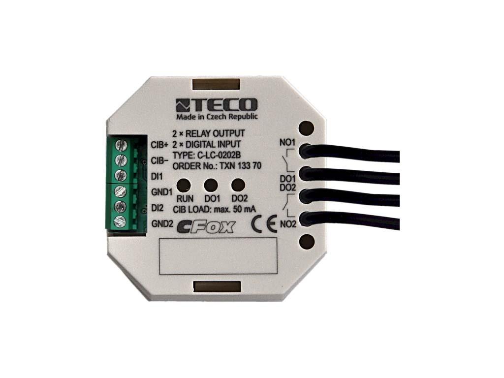 C-LC-0202B модуль релейных выходов – актуатор освещения