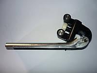 Ролик боковой левой двери средний (с кронштейном) Renault Master / Movano 98> (ROLL RM08L)