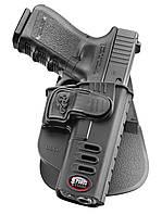 Кобура Fobus GLCH для Glock-17/19, Форт-17 с поясным фиксатором, замок на скобе