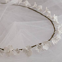 """Свадебные украшения. Свадебный веночек для невесты, бутоньерка, шпильки""""Сиреневая нежность"""""""