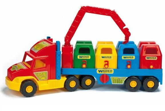 Wader Super Truck Мусоровоз. Польша! арт. 36530