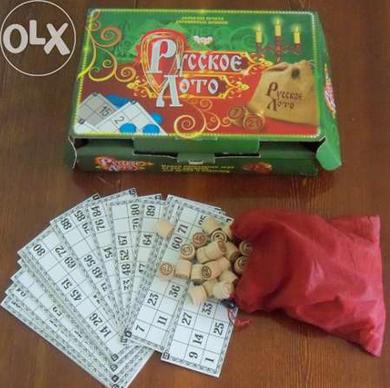 Русское Лото Danko Toys - настольная игра для всей семьи
