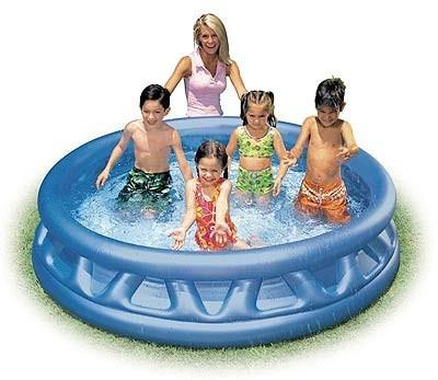 Детский надувной бассейн (конус) Intex 188-46см (58431)