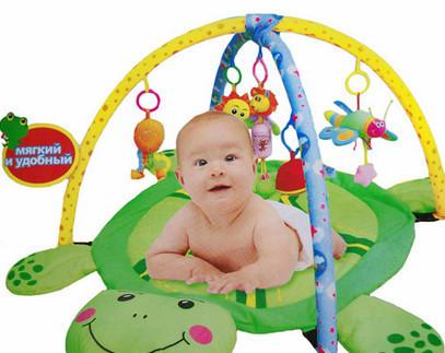 Детский развивающий коврик Черепашка (0228-1R)
