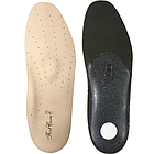 Ортопедическая стелька  КОЖАННАЯ супинатор для поддержки продольного и поперечного стопы Foot Care УПС-001
