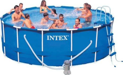 Каркасный бассейн Intex (457x122см) 28236 (54946)