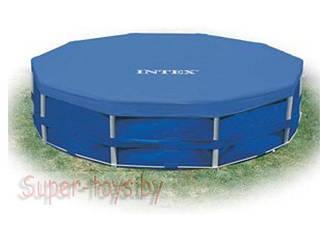 Тент Intex для каркасного круглого бассейна (305 см) арт.28030