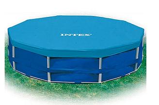 Тент для каркасных бассейнов р.366 28031 Intex