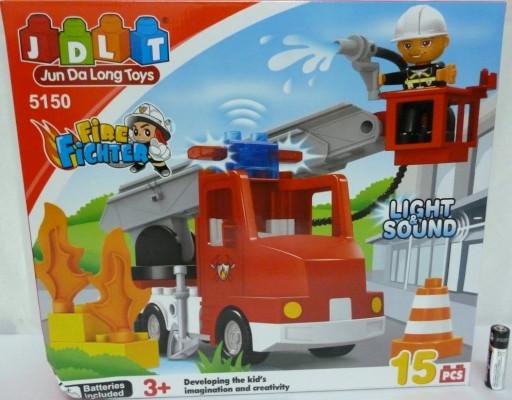 Конструктор JDLT Пожарная машина 5150