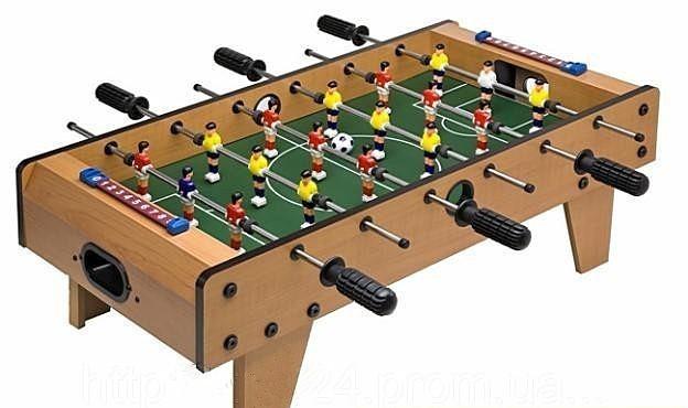Настольная игра  Футбол деревянный на штангах Bambi 2035