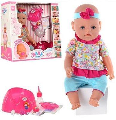 Кукла пупс 8001-8 Беби Борн, вязанная одежда