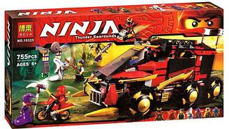 Конструктор Ninja Мобильная база Ниндзя 10325 Bela